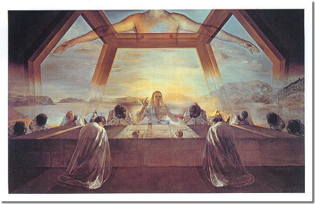 最後の晩餐サルバドール・ダリ1955年