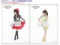 NANA MIZUKI LIVE CIRCUS×CIRCUS+×WINTER FESTA WonderGOO特典「リバーシブルタペストリー(紙製)&ブロマイド2枚セット」
