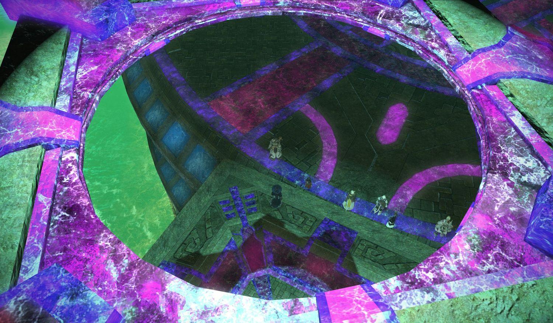 CT壺の天蓋は万華鏡