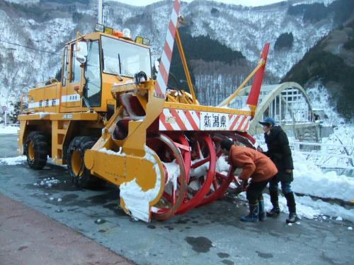 新潟の除雪車