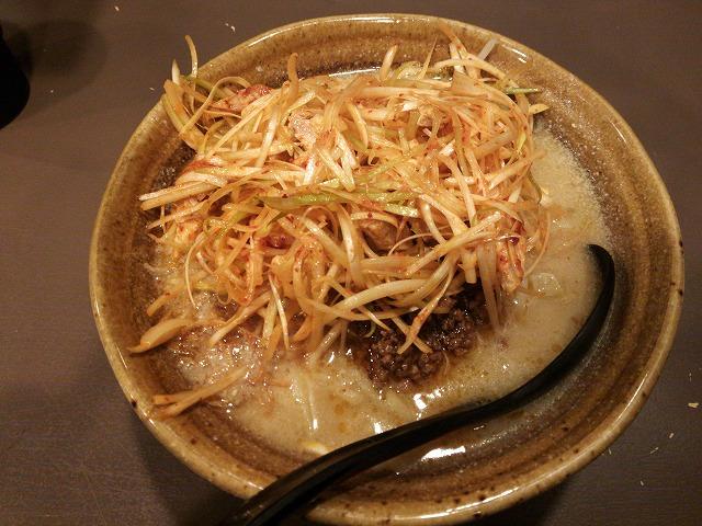 味噌もんてん_九州麦味噌 肉ネギらーめん01