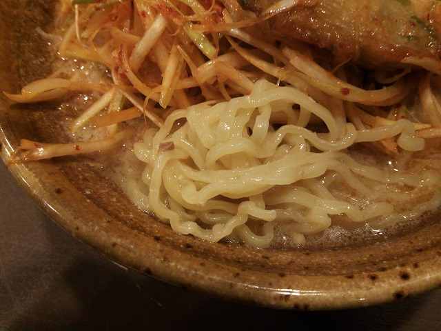 味噌もんてん_九州麦味噌 肉ネギらーめん04
