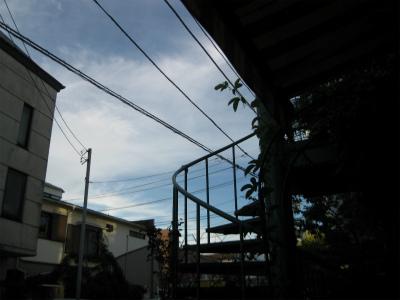 夕方の空IMG_3165