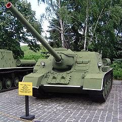 自走砲SU100