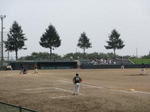 朝野球郡大会