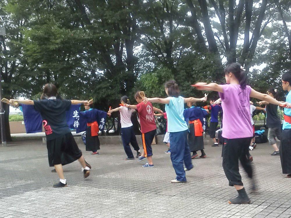F1000308彩夏祭練習中