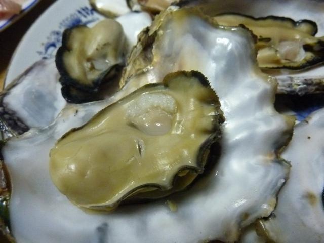 牡蠣の美味しそうな身