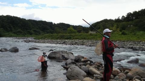 27日那珂川上流午後の部出発
