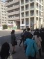 ビラまき@東北大入学式 本番