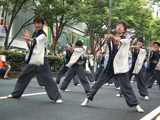 高知・高知工科大学 よさこい踊り子隊