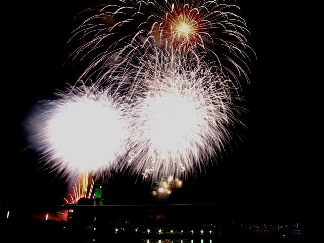 2014横浜開港まつり花火(9)