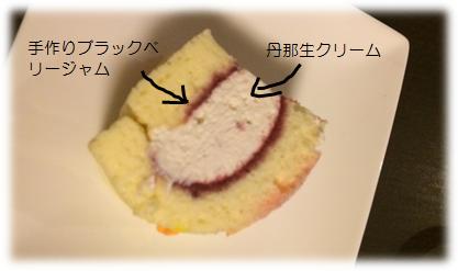 バースデイケーキ 断面