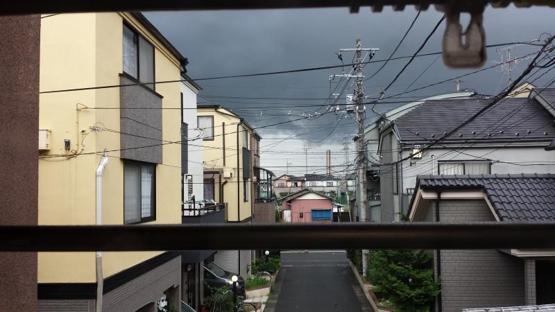 きゃーー豪雨くるぞぉ~