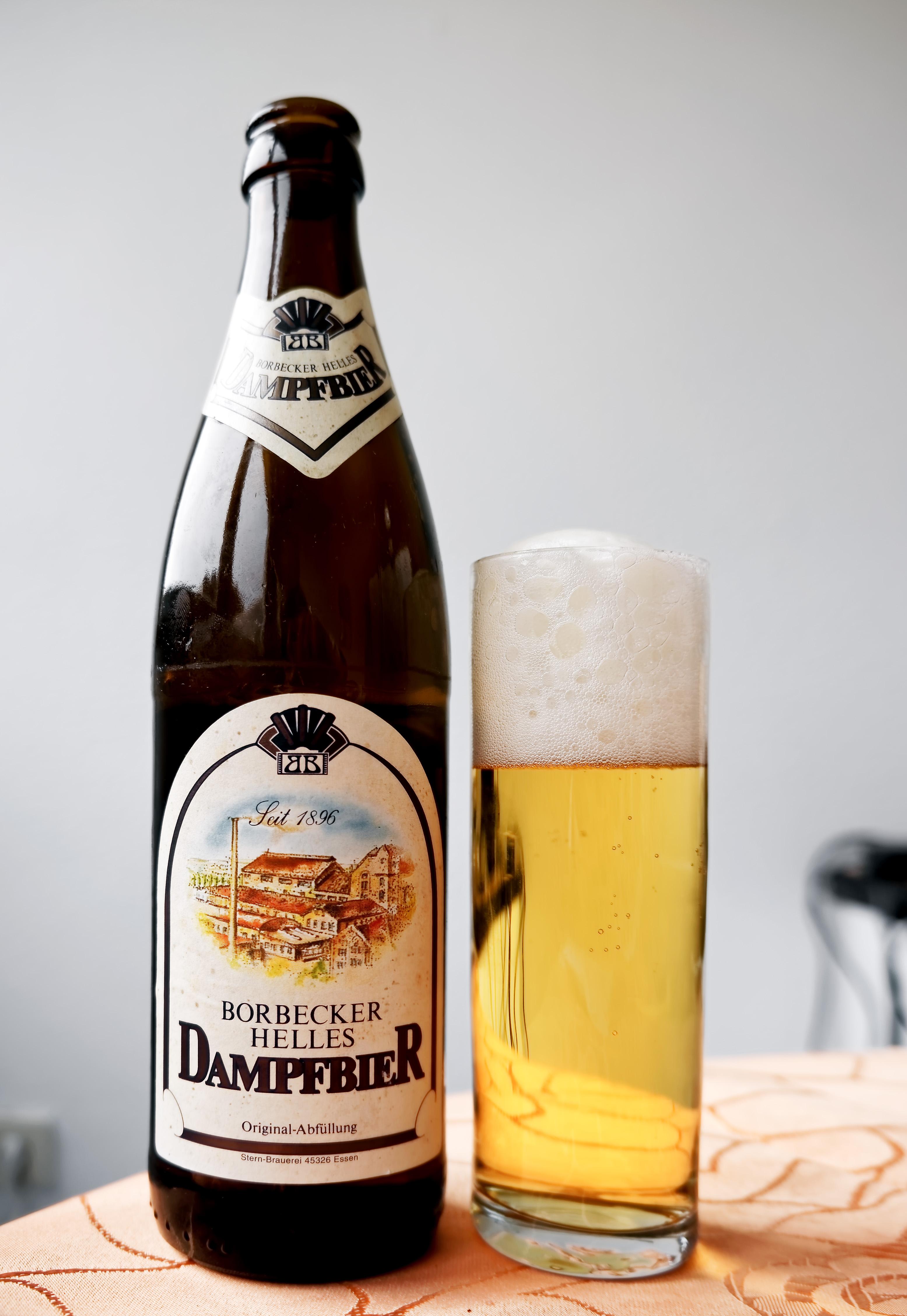 Borbecker Helles Dampfbier ボアベッカー・ヘレス・ダンプフビア - 麦 ...