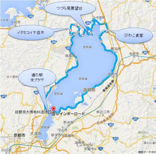 琵琶湖一周メタセコイヤ
