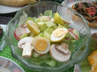 セロリのサラダ