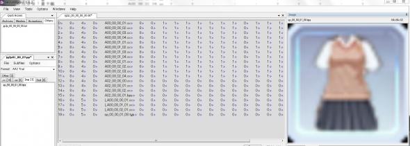 ジンコウガクエン2 SB3UtilityGUIでサマーセーターのpp展開画像