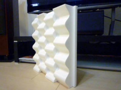 拡散用正弦波形状パネル(軽量タイプ)