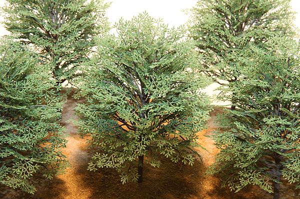 リアルツリー・緑の樹木(80)