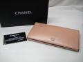 CHANEL シャネル ココボタン 二つ折り長財布