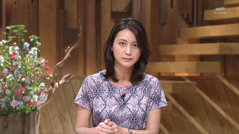 番組に臨む小川彩佳アナウンサー