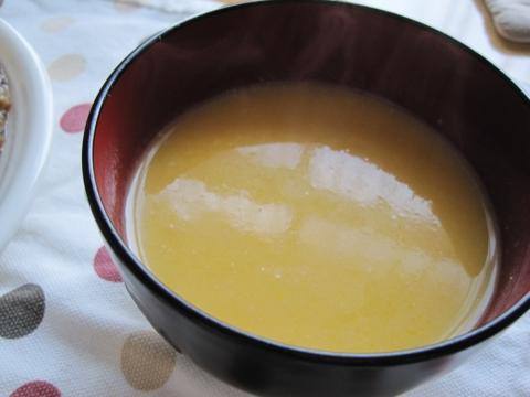 かぼちゃと玉ねぎとカブのスープ