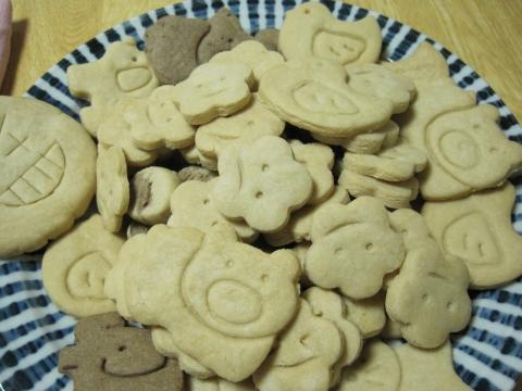 どうぶつクッキーいろいろ