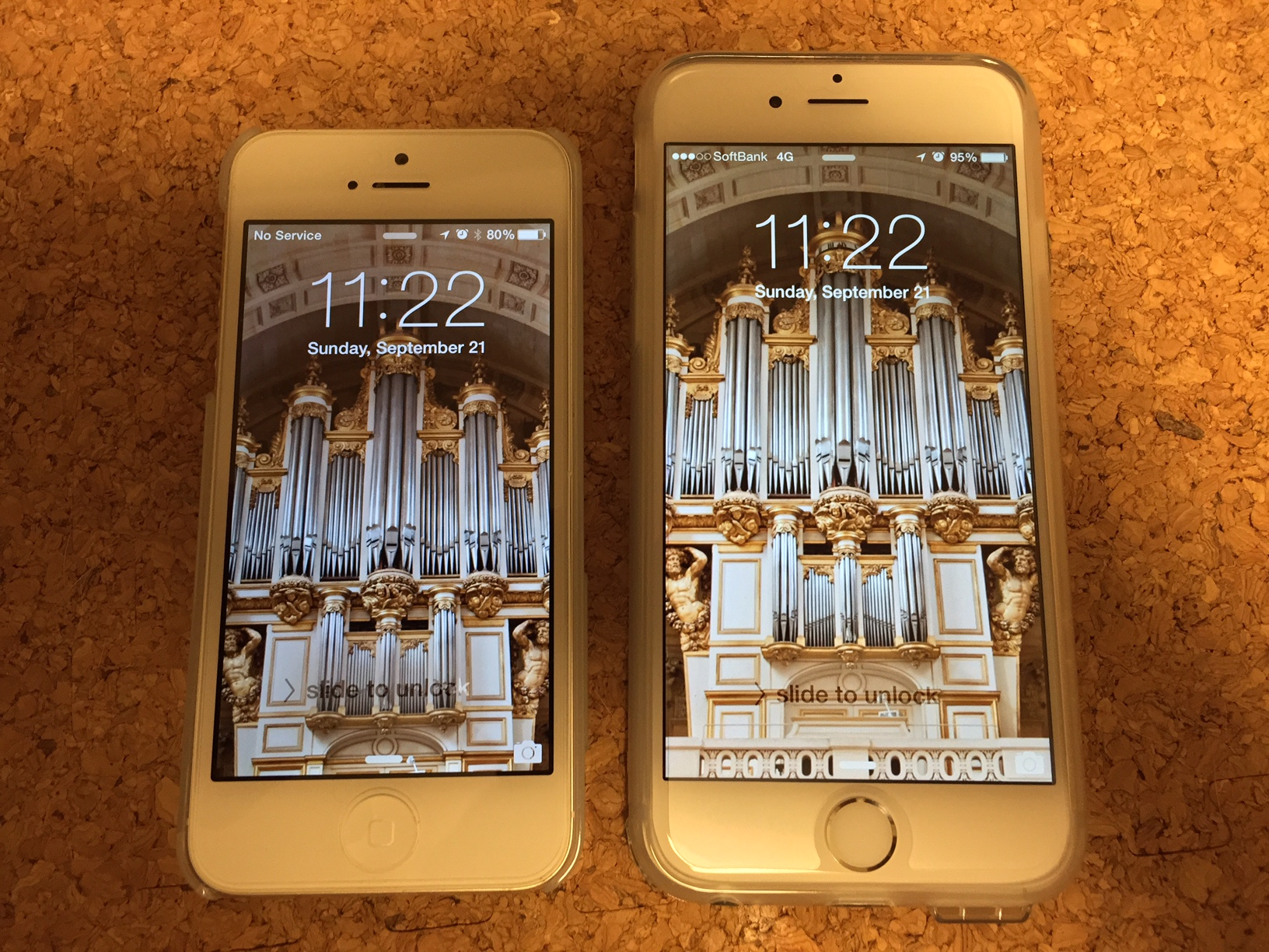 20140921 my iphone 5 and iphone 6
