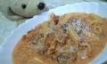 料理-挽肉とペンネのトマトクリームソース-20140627-06
