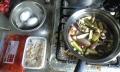 料理-茄子と崩れ鶏肉のトマトクリームスープゆで卵添え-20140706-23