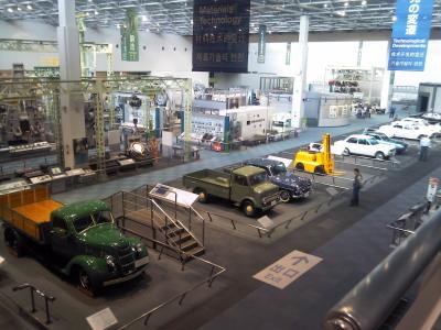 産業技術記念館1F全貌