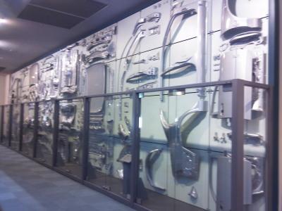 産業技術記念館1Fボディーパネル