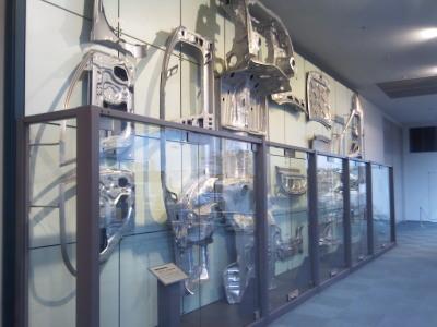 産業技術記念館1Fシャーシパネル