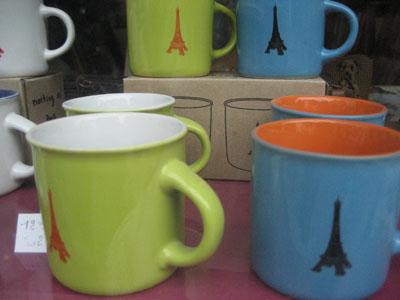 eiffel mug