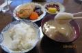 涅槃会の昼食
