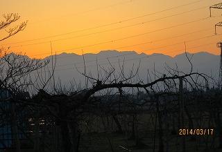 6時の立山