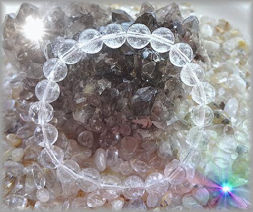 天然クラック水晶