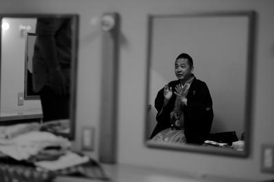 鏡のなかのぼく