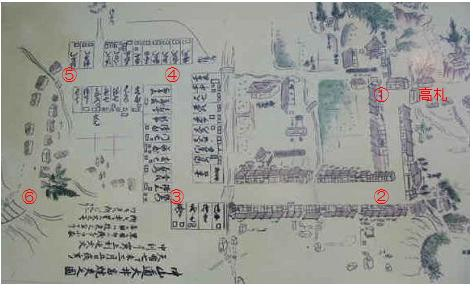 大井宿マップ