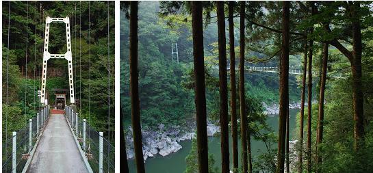 天竜峡吊り橋B