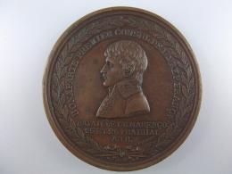 ナポレオン〈フランス〉銅 1800年直径50ミリ マレンゴ会戦戦勝記念