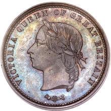 ニュージーランド ペニートークン青銅貨