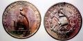 グァテマラ 1ケッツァル銀貨 1925年 神の鳥であるケッツァルを描く