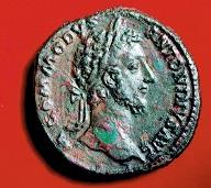 セステルティウス青銅貨 コンモドゥス帝