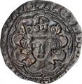 イギリス(イングランド)グロート( 4 ペンス)銀貨
