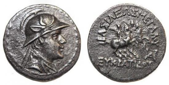 バクトリア エウクラディウス1世 前171―145