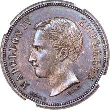 ナポレオン4世 2フラン銀貨 1874年