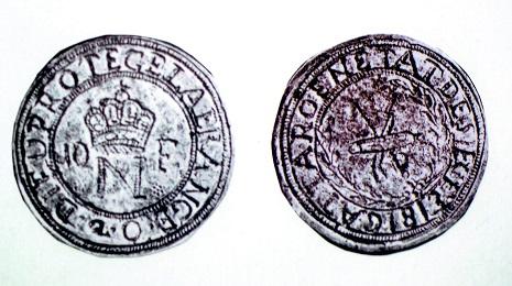 カッタロ 10フラン銀貨 1813年