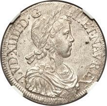 Louis XIV Ecu 1648-K MS64
