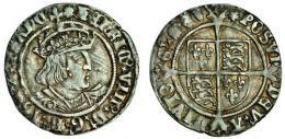 ヘンリー8世 グロート銀貨 (在位1509―47)